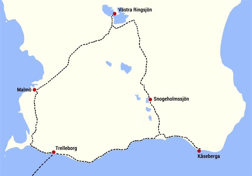 Schweden_Trip_Karte