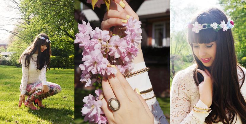 Outfit_SundayMorning_BelleMelange_FlowerCrown_Spring_Fashion_Titelbild