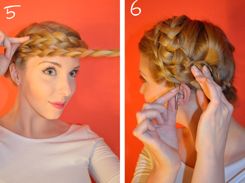 BelleMelange_Frisurentutorial-Braided-Crown_Flechtkrone-Schritt3