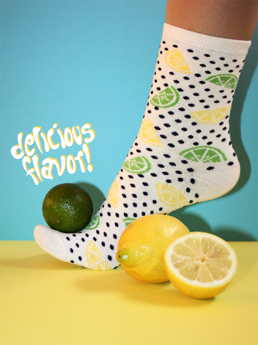 TrendFruits_07_Fashion_Accessoires_Socken_Sox_Lemon_Zitrone