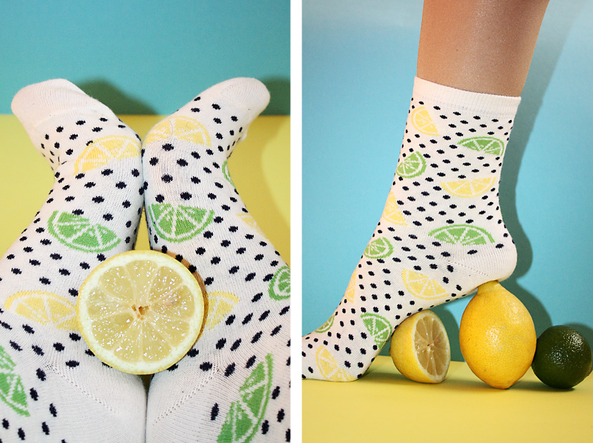 TrendFruits_08_Fashion_Accessoires_Socken_Sox_Lemon_Zitrone