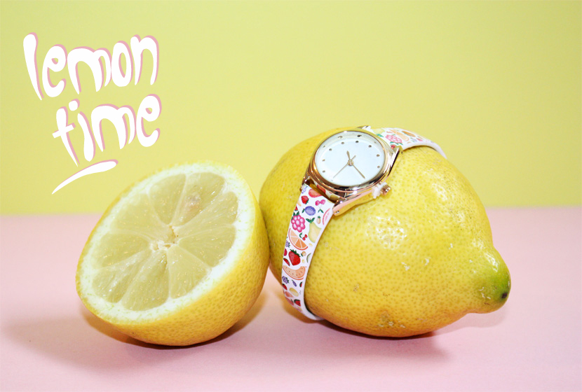 TrendFruits_09_Fashion_Accessoires_Uhr_Watch_Lemon_Zitrone