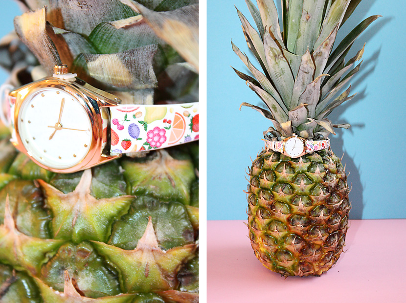 TrendFruits_10_Fashion_Accessoires_Uhr_Watch_Ananas_Pineapple