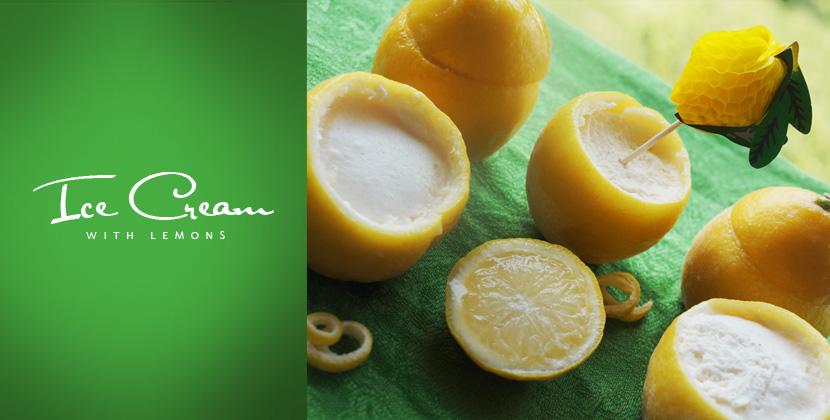 HomemadeLemonIceCream_Delicious_Food_Rezept_Zitroneneis_BelleMelange_Titelbild