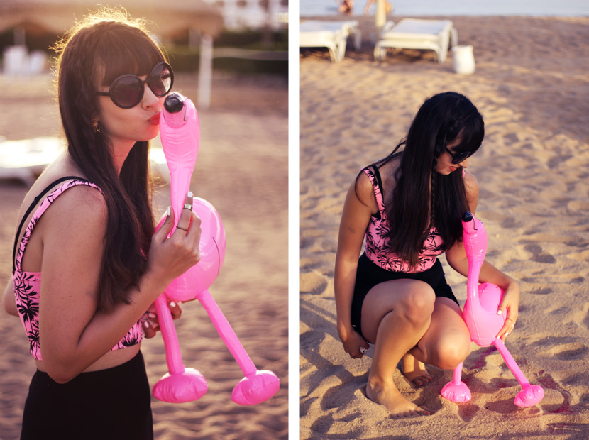 PinkFlamingoSummerAffair_Fashion_Corptop_Outfit_Palms_Sea_BelleMelange_03