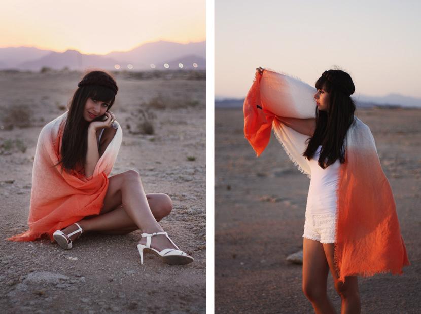SandUnderMyHeels_Desert_Outfit_Fashion_Orange_ASOS_Sunset_BelleMelange_Egypt_02