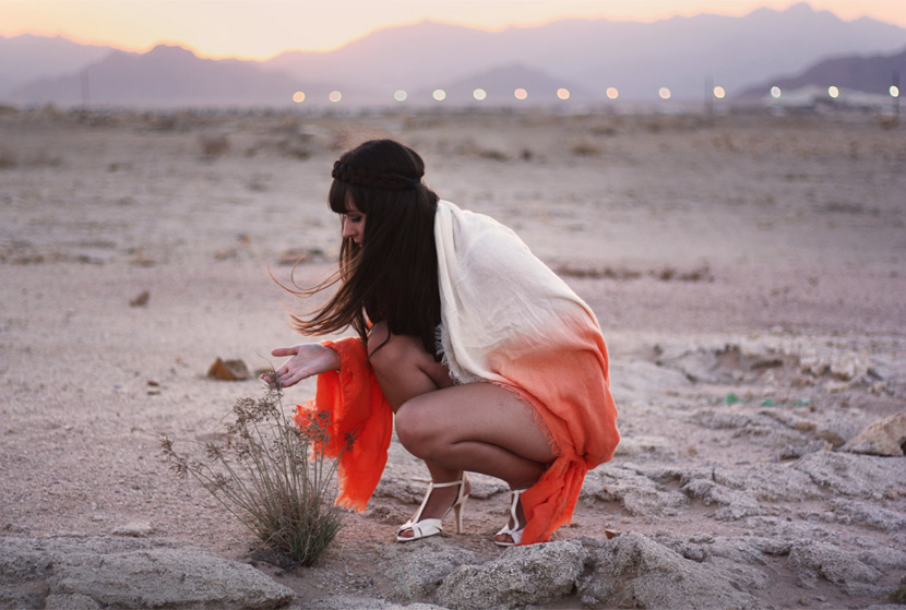 SandUnderMyHeels_Desert_Outfit_Fashion_Orange_ASOS_Sunset_BelleMelange_Egypt_05
