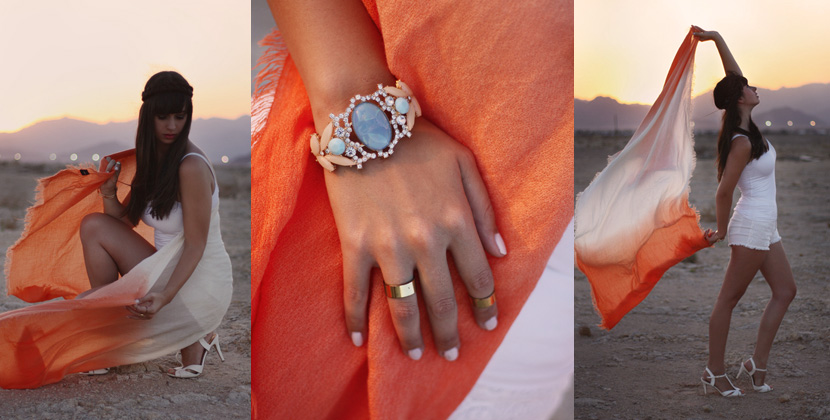 SandUnderMyHeels_Desert_Outfit_Fashion_Orange_ASOS_Sunset_BelleMelange_Egypt_Titelbild