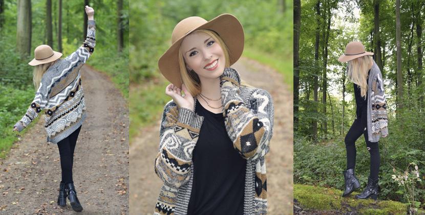 Titelbild_Blog_Belle-Melange_Fashion_Outfit_Cardigan_Hut_Waldesruh
