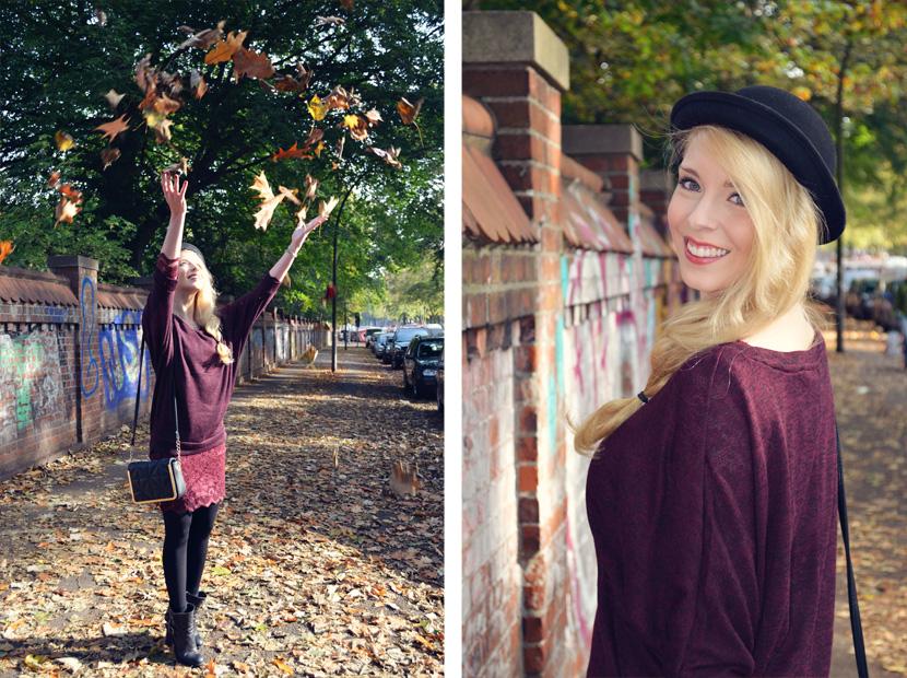 12-Blog_Belle-Melange_Fallen-Leaves_Outfit-Bordeaux_Spitze_Oversize-Pullover