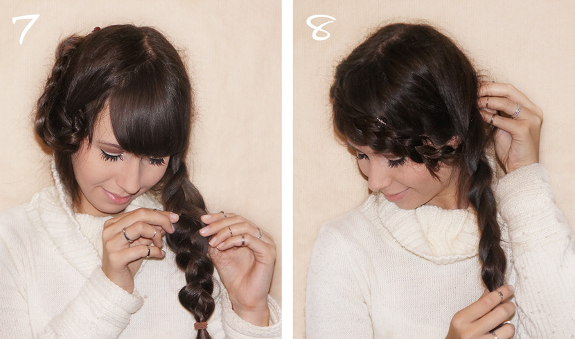 BraidedPlaits_Crown_LongHair_Tutorial_Frisur_Geflochten_Hochsteckfrisur_Updo_simple_easy_BelleMelange_04