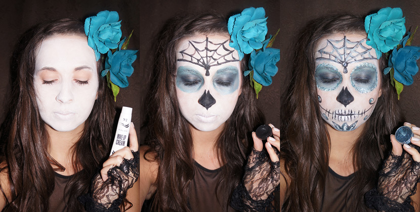 SugarSkull_Halloween_Makeup_Dead_Inspiration_Look_Beauty_BelleMelange_Titelbild
