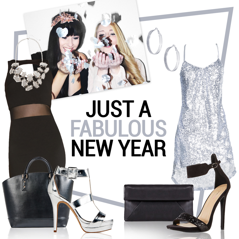 JustAFabulousNewYear_JustFab_Collage_Silvester_Outfit_Glitter_BelleMelange_01