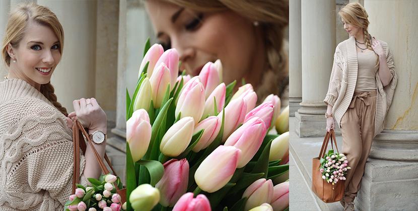 Titelbild_Caramel-for-Spring_Blog_Belle-Melange_Oversize-Strick-Cardigan_Stoffhose