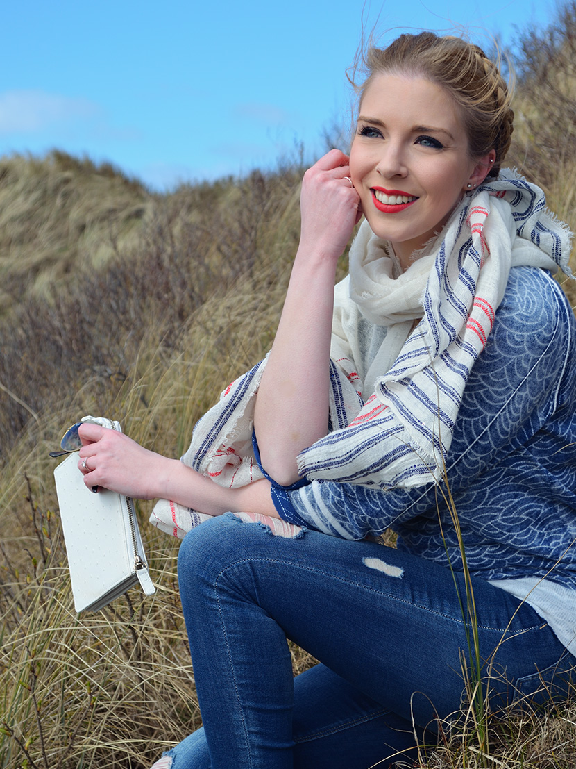 In-den-Dünen_Blog_Belle-Melange_Fashion_Outfit_Meer_Wellenpullover_Gaastra_Destroyed-Jeans_Zara_3