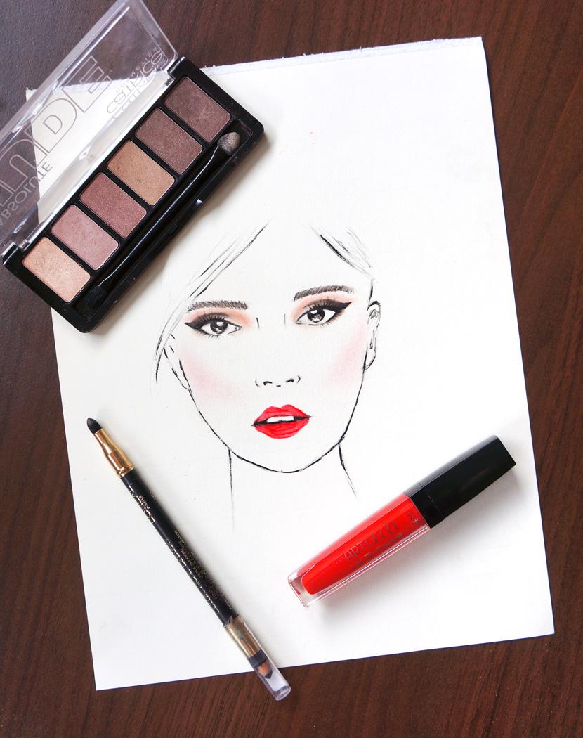 MakeUpArt_Sketch_Face_Artdeco_Catrice_BelleMelange_01