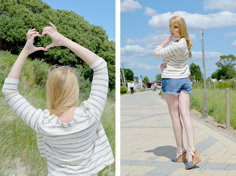 Ostsee-Liebe_Belle-Melange_Blog_Outfit_Fashion_Look_ootd_maritim_Shorts-Blazer_Streifen_5