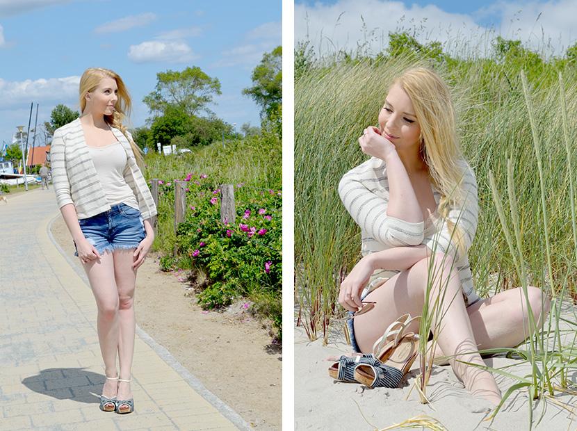 Ostsee-Liebe_Belle-Melange_Blog_Outfit_Fashion_Look_ootd_maritim_Shorts-Blazer_Streifen_9