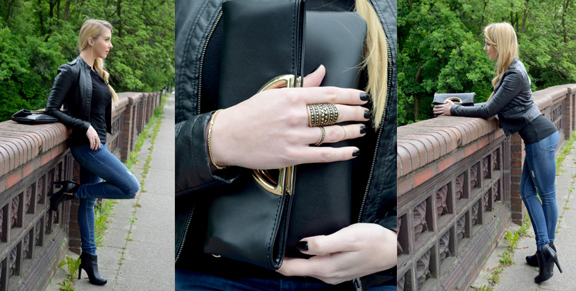 Titelbild_Basics-with-Twist_Blog_Belle-Melange_Lederjacke_Jeans_Clutch_Fashion_Outfit