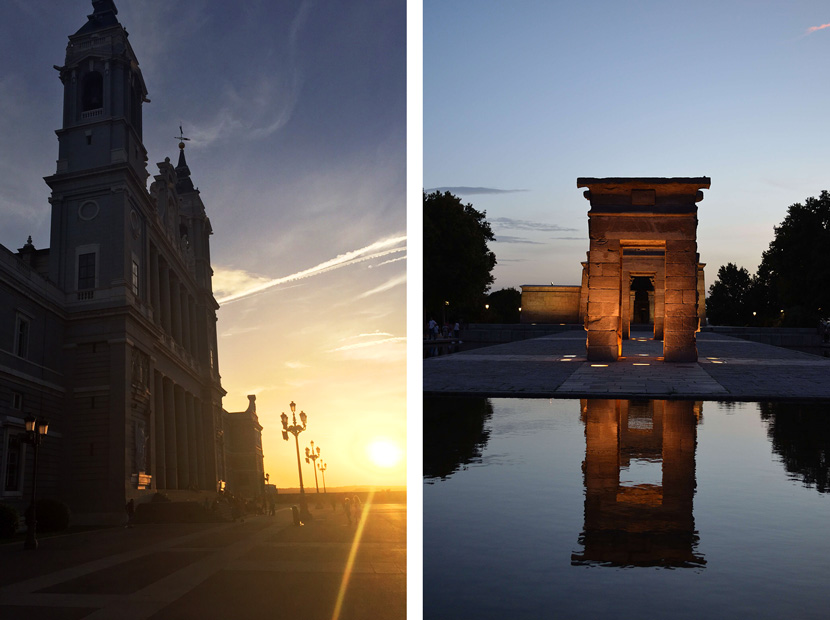 Sunset-Palacio-Real-2-Spanien-Madrid-Guide-Tipps-BelleMelange