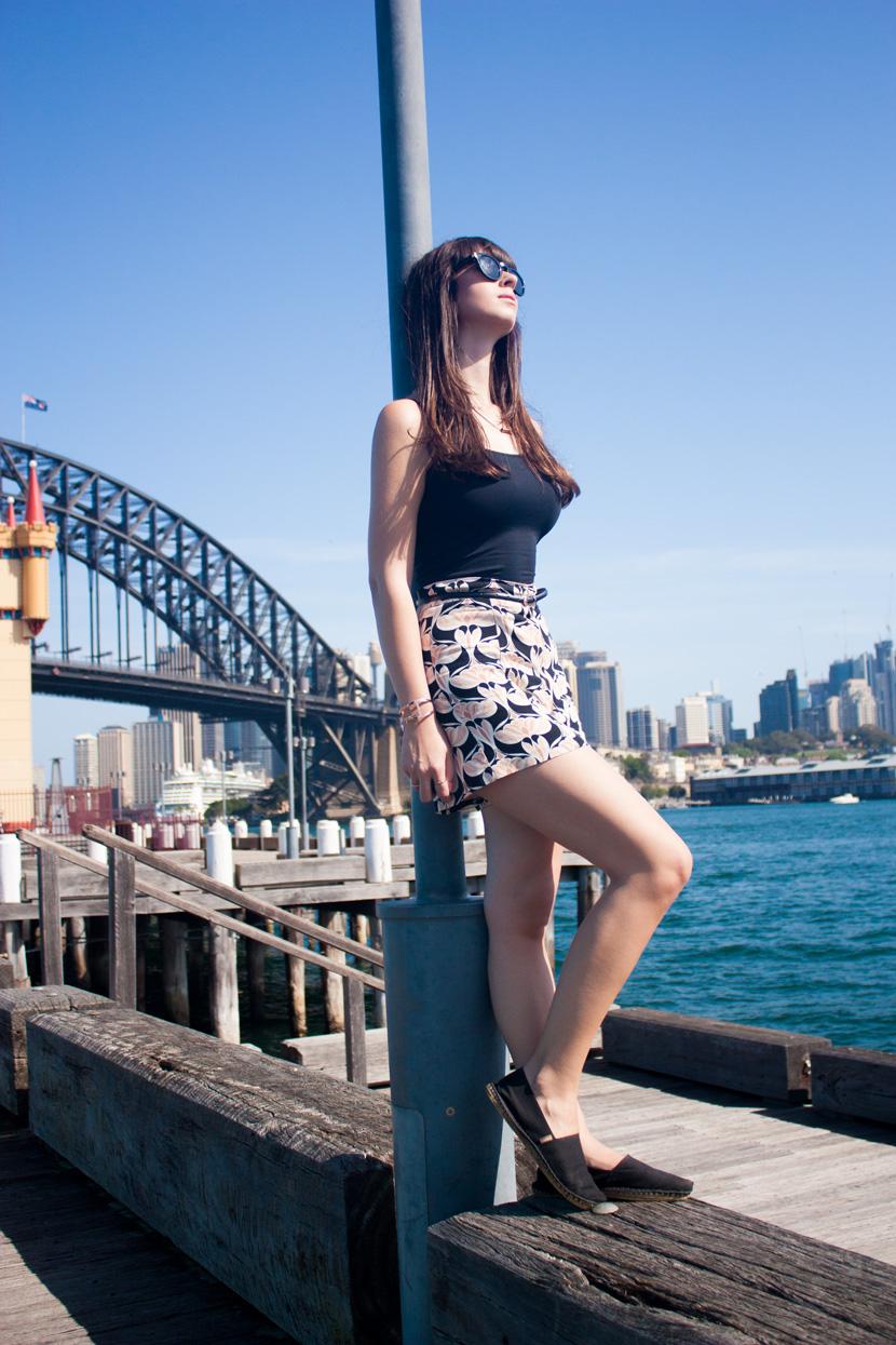 SydneyHarbourSeasideChic-Zara-Australia-Outfit-Fashion-DanielWellingtonWatch-BelleMelange-01