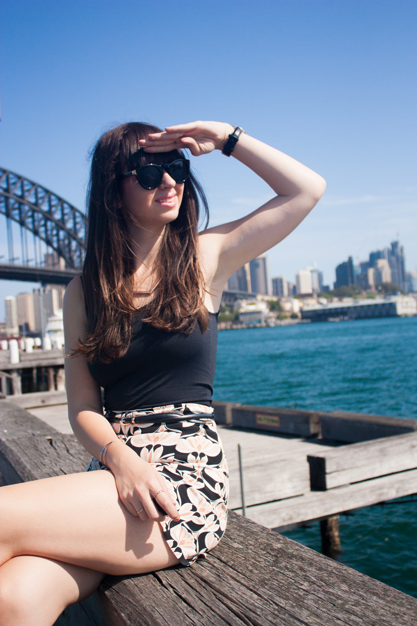 SydneyHarbourSeasideChic-Zara-Australia-Outfit-Fashion-DanielWellingtonWatch-BelleMelange-08