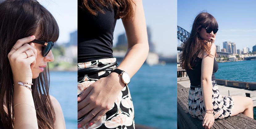 SydneyHarbourSeasideChic-Zara-Australia-Outfit-Fashion-DanielWellingtonWatch-BelleMelange-Titelbild