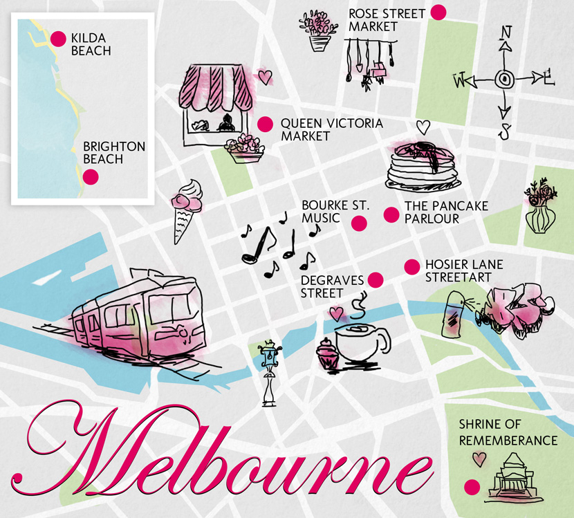 Melbourne-Guide-Tipps-Map-WhatToDo-BelleMelange-Map