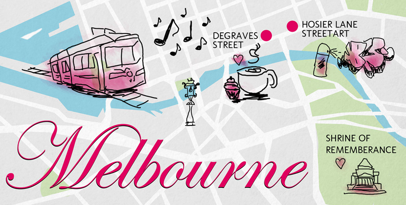 Melbourne-Guide-Tipps-Map-WhatToDo-BelleMelange-Titelbild