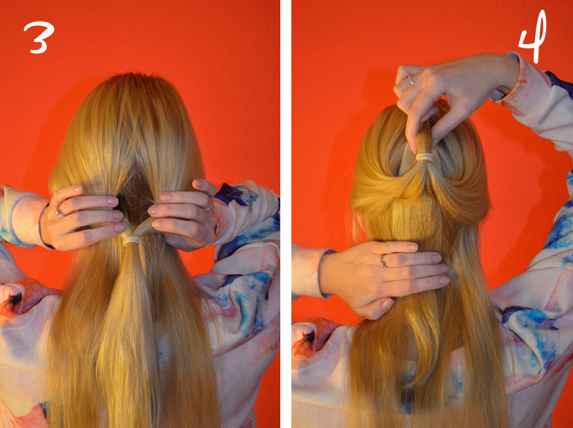 Easy_Half-UpDo-Frisur_Hair-Tutorial_Blog_Belle-Melange_Beauty_2