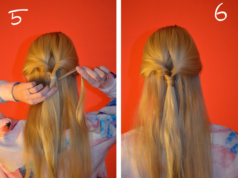 Easy_Half-UpDo-Frisur_Hair-Tutorial_Blog_Belle-Melange_Beauty_3