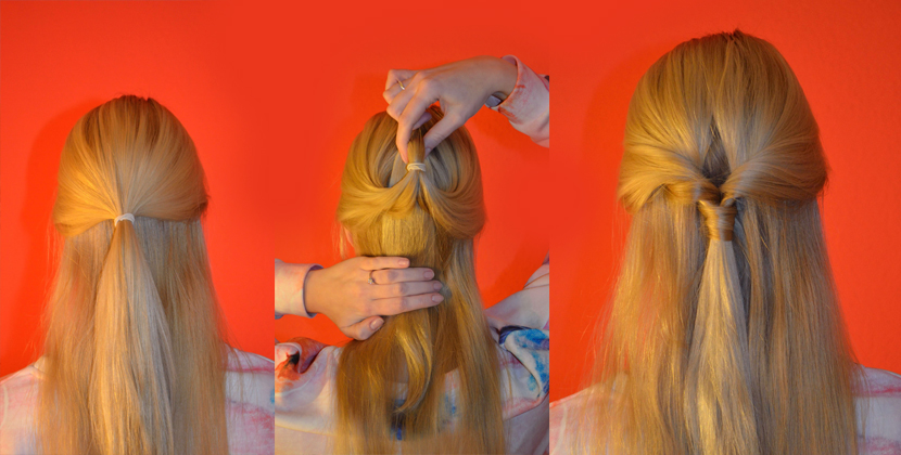 Titelbild_Easy_Half-UpDo-Frisur_Hair-Tutorial_Blog_Belle-Melange_Beauty