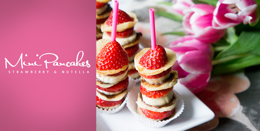 MiniPancakes-Strawberry-Nutella-Sweet-Recipe-BelleMelange-Titelbild