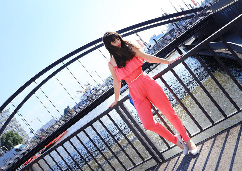 Pink-Jumpsuit-Orsay-Ice-Cream-Clutch-Hamburg-BelleMelange-01