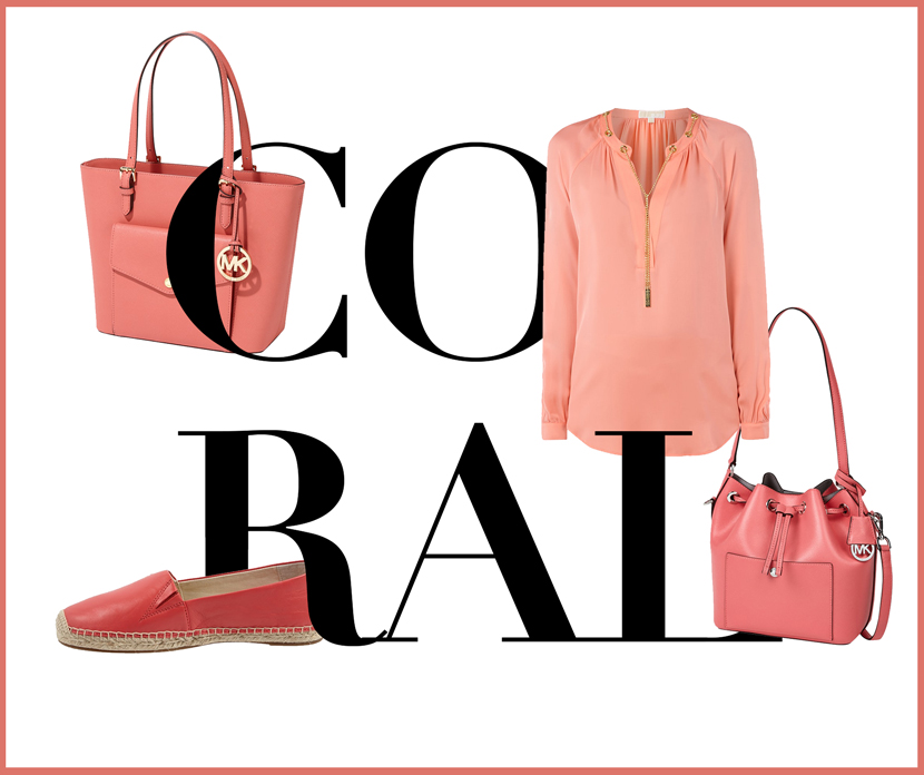 Summer-Colours-Coral-Michael-Kors-Peek-Cloppenburg-BelleMelange