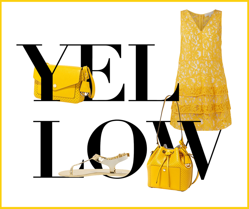 Summer-Colours-Yellow-Michael-Kors-Peek-Cloppenburg-BelleMelange