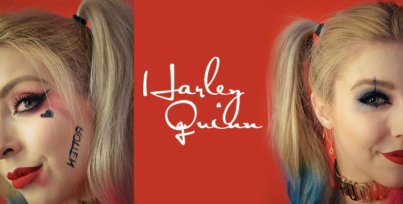 Titelbild-Tutorial-Harley-Quinn-Schminken-Blog-Belle-Melange-Beauty